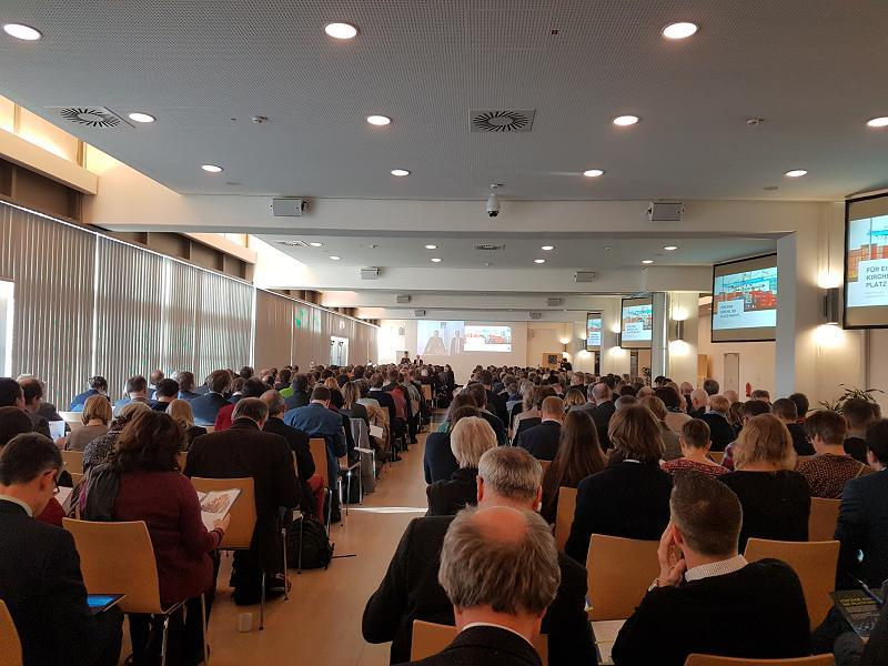 Eröffnung des ZAP-Kongresses